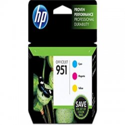 Hewlett Packard (HP) - CR314FN#140 - HP 951 Original Ink Cartridge - Cyan, Magenta, Yellow - Inkjet - Standard Yield - 700 Pages Cyan, 700 Pages Magenta, 700 Pages Yellow - 3 / Pack