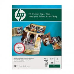 Hewlett Packard (HP) - Q1987A - HP Brochure/Flyer Paper - Letter - 8 1/2 x 11 - 48 lb Basis Weight - Glossy - 98 Brightness - 150 / Pack - Glossy