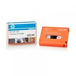 Hewlett Packard (HP) - Q2039A - HP DAT 320 Cleaning Cartridge - For Tape Drive - 1 Each