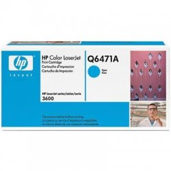 Hewlett Packard (HP) - Q6471A - HP 502A Original Toner Cartridge - Laser - 4000 Pages - Cyan - 1 Each