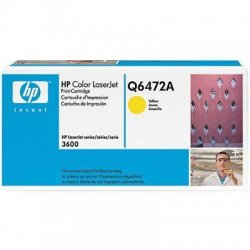 Hewlett Packard (HP) - Q6472A - HP 502A (Q6472A) Yellow Original LaserJet Toner Cartridge - Laser - 4000 Page - 1 Each