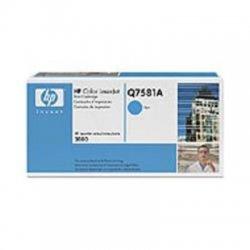 Hewlett Packard (HP) - Q7581A - HP 503A (Q7581A) Cyan Original LaserJet Toner Cartridge - Laser - 6000 Page - 1 Each