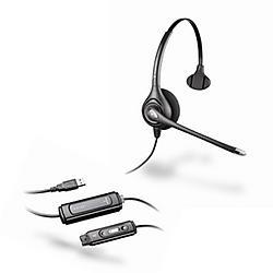 Plantronics - 81360-41 - HW251N / DA-M SupraPlus Wideband USB for Microsoft