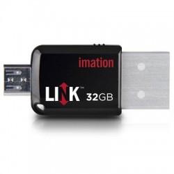 PNY Technologies - 29805 - Imation 32GB LINK Mobile Express USB 3.0 Flash Drive - 32 GB - USB 3.0, Micro USB