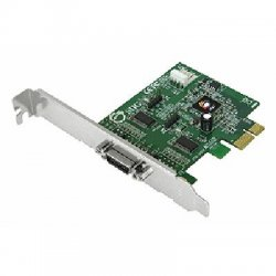 SIIG - JJ-E20011-S3 - SIIG CyberSerial JJ-E20011-S3 2-port Multiport Serial Adapter - PCI Express x1 - 2 x DB-9 RS-232 Serial Via Cable