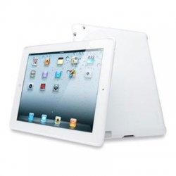 Kensington - K39353US - Kensington Protective Back iPad Case - iPad - White - Rubber