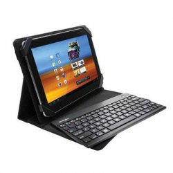 Kensington - K39519US - Kensington KeyFolio Pro 2 Keyboard - Wireless Connectivity - Bluetooth - Compatible with Tablet - QWERTY Keys Layout - Black