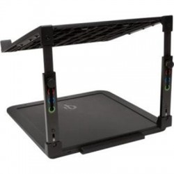 Kensington - K52784WW - Kensington SmartFit Laptop Riser with Qi Wireless Charging Pad - Up to 15.6 Screen Support - Desktop