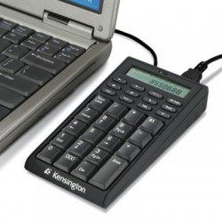 Kensington - K72274US - Kensington 72274 Notebook Keypad/Calculator with USB Hub - PC & MAC Compatible - Cable Connectivity - USB Interface - 19 Key - Compatible with Computer (PC) - Built-in USB Hub, Calculator