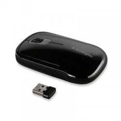 Kensington - K72334US - Kensington SlimBlade Wireless Laser Mouse - Laser - Wireless - Radio Frequency - Black - USB - Tilt Wheel