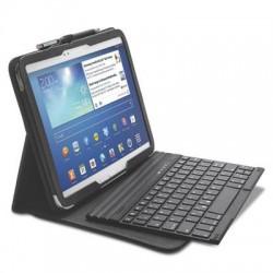 Kensington - K97156US - Kensington KeyFolio Pro K97156US Keyboard/Cover Case (Folio) for 10.1 Tablet, Stylus - Black - Damage Resistant Interior, Scratch Resistant Interior - MicroFiber Interior