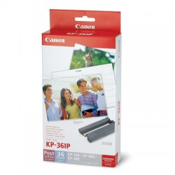 Canon - 7737A001 - Canon KP 36IP Print Cartridge / Paper Kit - 36 Page - 1 Each