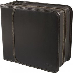 Case Logic - KSW-320BLACK - Case Logic KSW-320 CD/DVD Wallet - Wallet - Faux Leather - Black - 320 CD/DVD