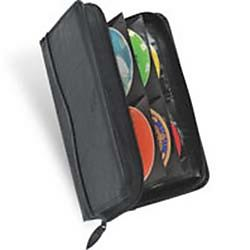 Case Logic - KSW92 - Case Logic CD Wallet - Book Fold - Koskin - Black - 92 CD/DVD
