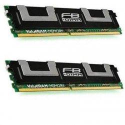 Kingston - KVR667D2D4F5/8G - Kingston ValueRAM 8GB DDR2 SDRAM Memory Module - 8GB (1 x 8GB) - 667MHz DDR2-667/PC2-5300 - ECC - DDR2 SDRAM - 240-pin DIMM