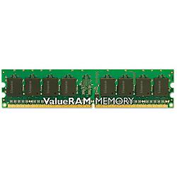 Kingston - KVR800D2N6/1G - Kingston ValueRAM 1GB DDR2 SDRAM Memory Module - 1GB (1 x 1GB) - 800MHz DDR2-800/PC2-6400 - Non-ECC - DDR2 SDRAM - 240-pin DIMM