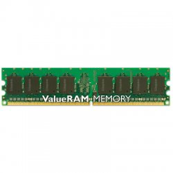 Kingston - KVR800D2N6/2G - Kingston ValueRAM 2GB DDR2 SDRAM Memory Module - 2GB (1 x 2GB) - 800MHz DDR2-800/PC2-6400 - Non-ECC - DDR2 SDRAM - 240-pin DIMM