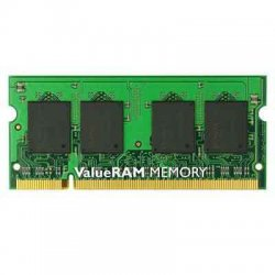 Kingston - KVR800D2S6/1G - Kingston ValueRAM 1GB DDR2 SDRAM Memory Module - 1GB (1 x 1GB) - 800MHz DDR2-800/PC2-6400 - Non-ECC - DDR2 SDRAM - 200-pin SoDIMM