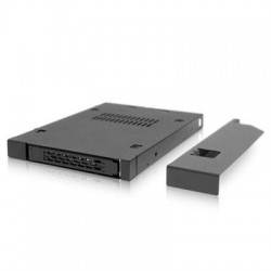"Icy Dock - MB411SPO-B - Icy Dock ToughArmor MB411SPO-B Drive Enclosure Internal - Black - 1 x Total Bay - 1 x 2.5"" Bay - Serial ATA/600, 6Gb/s SAS - Serial ATA/600 - Metal"