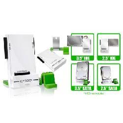 Icy Dock - MB881U3-1SA - Icy Dock EZ-Dock MB881U3-1SA Drive Dock External - White, Green - 3 x Total Bay - 1 x 3.5 Bay - 1 x 2.5 Bay - 1 x 2.5/3.5 Bay - USB 3.0