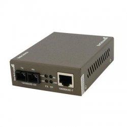 StarTech - MCMGBSC055 - StarTech.com 1000 Mbps Gigabit Multi Mode Fiber Ethernet Media Converter SC 550m - 1 x RJ-45 Network