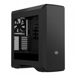 """Cooler Master - MCY-C6P2-KW5N - Cooler Master MasterCase Pro 6 Computer Case with Blue LED - Mid-tower - Dark Metallic Gray, Black - Steel, Plastic - 9 x Bay - 3 x 5.51"""" x Fan(s) Installed - ATX, Micro ATX, Mini ITX Motherboard Supported - 25.88 lb - 6 x"""