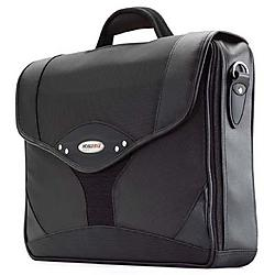 Mobile Edge - MEBCS1 - Mobile Edge Select Briefcase - Top-loading - Shoulder Strap, Handle - Leather - Charcoal, Black