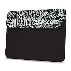 Mobile Edge - ME-SUMO77101 - Sumo 10/11.6 Inch Graffiti Netbook Sleeve - 8.75 x 11.75 x 0.75 - Neoprene - Black