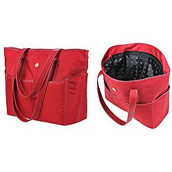 Mobile Edge - ME-SUMO99T76L - Mobile Edge Sumo Large Travel Tote - 14.25 x 17 x 7 - Nylon - Red