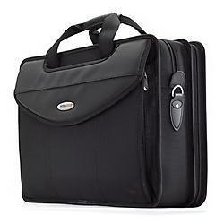 Mobile Edge - MEV17P - Mobile Edge Premium V-Load Notebook Case - Top-loading - Shoulder Strap - Nylon - Black