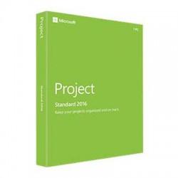 Microsoft - Z9V-00347 - Microsoft Project 2016 Standard - Box Pack - 1 License - Project Management - English - PC
