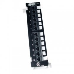 Tripp Lite - N050-012 - Tripp Lite 12-Port Cat5e Cat5 Wall Mount Patch Panel 568B 110 Punch TAA - 568B, RJ45 Ethernet