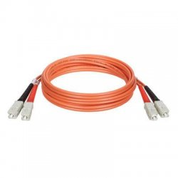 Tripp Lite - N306-05M - Tripp Lite 5M Duplex Multimode 62.5/125 Fiber Optic Patch Cable SC/SC 16' 16ft 5 Meter - SC Male - SC Male - 16.4ft - Orange