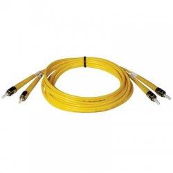 Tripp Lite - N352-09M - Tripp Lite 9M Duplex Singlemode 8.3/125 Fiber Optic Patch Cable ST/ST 30' 30ft 9 Meter - ST Male - ST Male - 29.53ft - Yellow