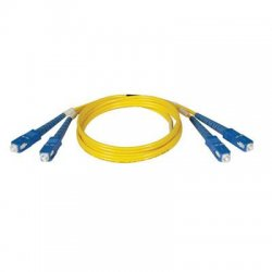 Tripp Lite - N356-05M - Tripp Lite 5M Duplex Singlemode 8.3/125 Fiber Optic Patch Cable SC/SC 16' 16ft 5 Meter - SC Male - SC Male - 16.4ft - Yellow