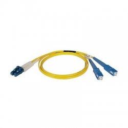 Tripp Lite - N366-01M - Tripp Lite 1M Duplex Singlemode 8.3/125 Fiber Optic Patch Cable LC/SC 3' 3ft 1 Meter - LC - SC - 3.28ft