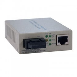 Tripp Lite - N784-001-SC - Tripp Lite Fiber Optic 10/100BaseT to 100BaseFX-SC Multimode Media Converter 2km 1310nm - 1 x RJ-45 , 1 x SC Duplex - 10/100Base-TX, 100Base-FX