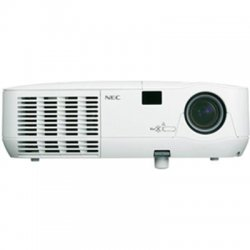 NEC - NP115 - NEC Display NP115 3D Ready DLP Projector with VUKUNET free CMS - F/2.41-2.55 - HDTV - 1080i - 800 x 600 - SVGA - 2000:1 - 2500 lm - 4:3 - VGA - Ethernet - 2 Year Warranty