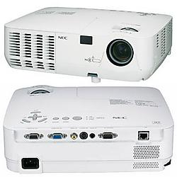 NEC - NP215 - NEC Display NP215 Multimedia Projector with VUKUNET free CMS - 1024 x 768 XGA - 4:3 - 5.51lb - 2Year Warranty