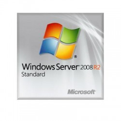 Microsoft - P73-06451 - Microsoft Windows Server 2008 R2 Standard With Service Pack 1 64-bit - License and Media - 4 CPU, 5 CAL, 1 Server - OEM - DVD-ROM - English - PC