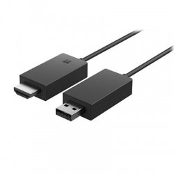 Microsoft - P3Q-00001 - Microsoft Wireless Display Adapter - 1 Output Device - 23 ft Range - 1 x USB - 1 x HDMI Out - Wireless LAN