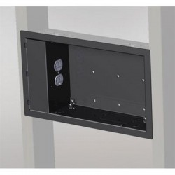 Chief - PAC521N - Chief In-Wall Box (without Power Outlet Conditioner) - Black