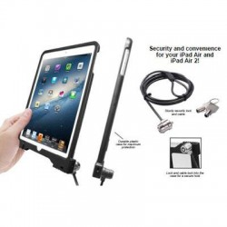CTA Digital - PAD-ASC - CTA Digital Anti-Theft Security Case for iPad Air - Black