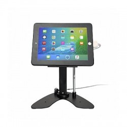 CTA Digital - PAD-ASKB - CTA Digital Desk Mount for iPad - Black