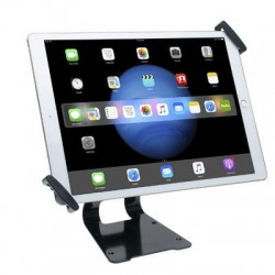CTA Digital - PAD-ATGSL - CTA Digital Adjustable Anti-Theft Security Grip and Stand for Large Tablets 9.7 - 14 - Black