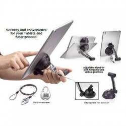 CTA Digital - PAD-SST - CTA Suction Stand with Theft Deterrent Lock - Desktop stand