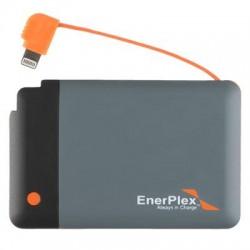 Ascent Solar - PBM2T6LAAGYAII - EnerPlex Jumpr Mini-L Power Bank - For iPhone, iPod, iPad, Smartwatch - Lithium Polymer (Li-Polymer) - 2600 mAh - 1 A - 5 V DC Output - 5 V DC Input - 2 x - Gray