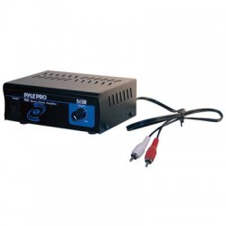 Pyle / Pyle-Pro - PCA1 - PyleHome PCA1 Stereo Power Amplifier - 40 kHz - 20 Hz to 40 kHz - Audio Line In