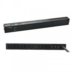 CyberPower - PDU30BHVT12R - CyberPower Basic PDU30BHVT12R 12-Outlets PDU - 12 x IEC 60320 C13 - 1U Rack-mountable, Zero U Vertical Rackmount