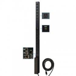 Tripp Lite - PDUMNV15 - Tripp Lite PDU Monitored 120V 15A 5-15R 16 Outlet 5-15P Vertical 0URM - 16 x NEMA 5-15R - Zero U Vertical Rackmount